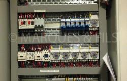 Armoire de puissance et régulation pour système de chauffage