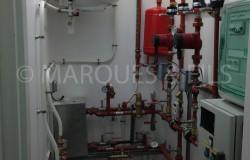 Création de sous station de chauffage