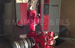 Maintenance pompe sous station de chauffage