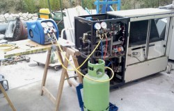 Récupération fluide frigorigène pour recyclage
